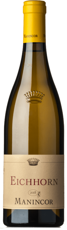 26,95 € Free Shipping | White wine Manincor Pinot Bianco Eichhorn D.O.C. Alto Adige Trentino-Alto Adige Italy Pinot White Bottle 75 cl