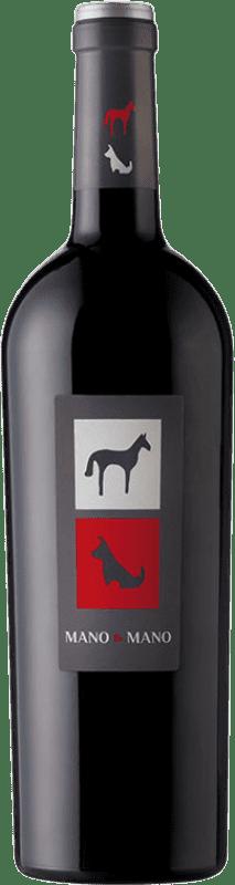 6,95 € Envío gratis | Vino tinto Mano a Mano Joven I.G.P. Vino de la Tierra de Castilla Castilla la Mancha España Tempranillo Botella 75 cl
