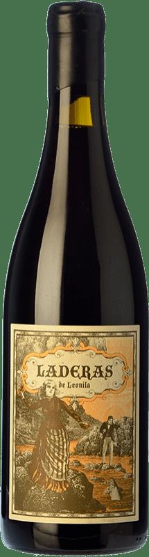 13,95 € Envío gratis | Vino tinto Máquina & Tabla Laderas de Leonila Crianza D.O. Bierzo Castilla y León España Mencía Botella 75 cl