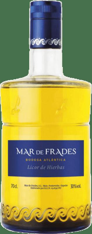15,95 € Envío gratis | Licor de hierbas Mar de Frades D.O. Orujo de Galicia Galicia España Botella 70 cl