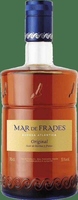 28,95 € Envío gratis | Licor de hierbas Mar de Frades Original D.O. Orujo de Galicia Galicia España Botella 70 cl
