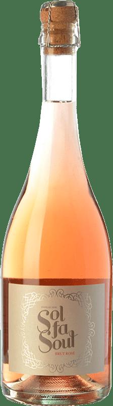 8,95 € Envío gratis | Espumoso rosado Pelleriti Sol Fa Soul Espumante Rose Brut I.G. Valle de Uco Valle de Uco Argentina Cabernet Sauvignon, Malbec Botella 75 cl