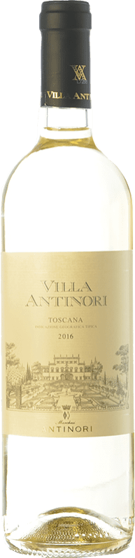 11,95 € Free Shipping | White wine Marchesi Antinori Villa Antinori Bianco I.G.T. Toscana Tuscany Italy Maturana Tinta, Trebbiano, Pinot Grey, Pinot White, Riesling Renano Bottle 75 cl