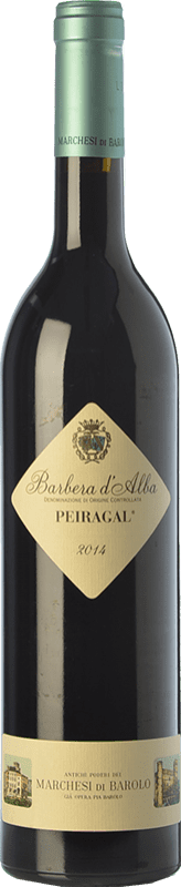 18,95 € Free Shipping | Red wine Marchesi di Barolo Peiragal D.O.C. Barbera d'Alba Piemonte Italy Barbera Bottle 75 cl