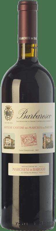 35,95 € Free Shipping | Red wine Marchesi di Barolo Riserva della Casa Reserva D.O.C.G. Barbaresco Piemonte Italy Nebbiolo Bottle 75 cl