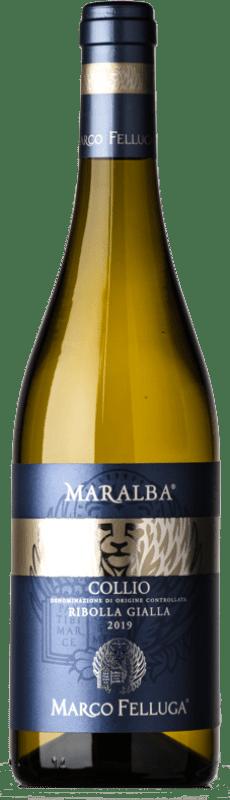 16,95 € | White wine Marco Felluga Ribolla D.O.C. Collio Goriziano-Collio Friuli-Venezia Giulia Italy Ribolla Gialla Bottle 75 cl