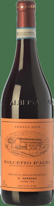 12,95 € Envío gratis | Vino tinto Marengo D.O.C.G. Dolcetto d'Alba Piemonte Italia Dolcetto Botella 75 cl