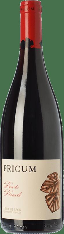 23,95 € 免费送货 | 红酒 Margón Pricum Crianza D.O. Tierra de León 卡斯蒂利亚莱昂 西班牙 Prieto Picudo 瓶子 75 cl