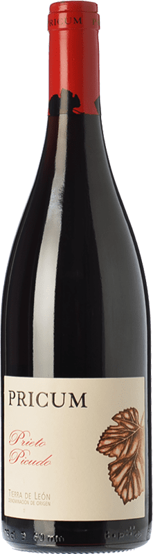 23,95 € | Red wine Margón Pricum Crianza D.O. Tierra de León Castilla y León Spain Prieto Picudo Bottle 75 cl