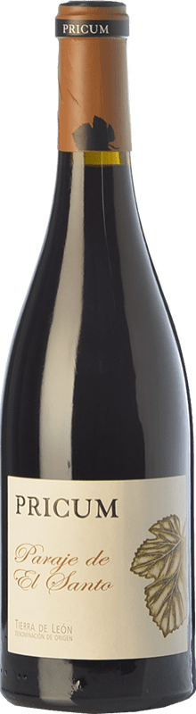 35,95 € Envío gratis | Vino tinto Margón Pricum Paraje de El Santo Crianza D.O. León Castilla y León España Prieto Picudo Botella 75 cl