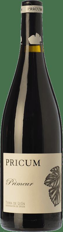 13,95 € Envío gratis | Vino tinto Margón Pricum Primeur Joven D.O. León Castilla y León España Prieto Picudo Botella 75 cl
