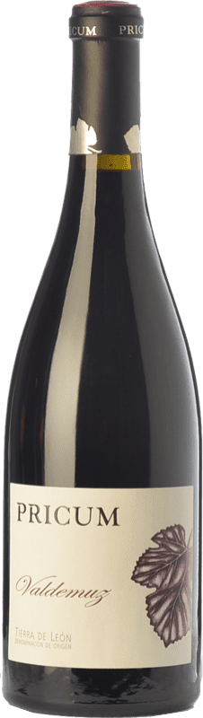38,95 € 免费送货 | 红酒 Margón Pricum Valdemuz Crianza D.O. Tierra de León 卡斯蒂利亚莱昂 西班牙 Prieto Picudo 瓶子 75 cl