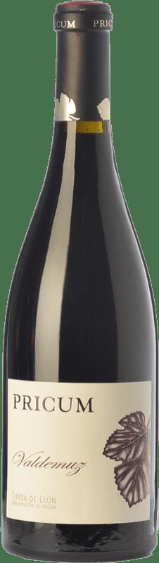 38,95 € | Red wine Margón Pricum Valdemuz Crianza D.O. Tierra de León Castilla y León Spain Prieto Picudo Bottle 75 cl