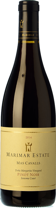 49,95 € | Red wine Marimar Estate Mas Cavalls Crianza I.G. Sonoma Coast Sonoma Coast United States Pinot Black Bottle 75 cl