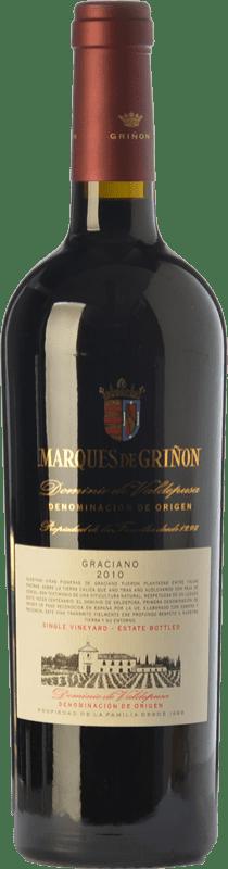 34,95 € Envío gratis | Vino tinto Marqués de Griñón Reserva D.O.P. Vino de Pago Dominio de Valdepusa Castilla la Mancha España Graciano Botella 75 cl