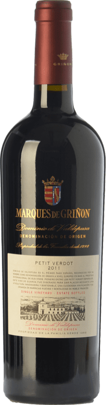 23,95 € Free Shipping | Red wine Marqués de Griñón Crianza D.O.P. Vino de Pago Dominio de Valdepusa Castilla la Mancha Spain Petit Verdot Bottle 75 cl
