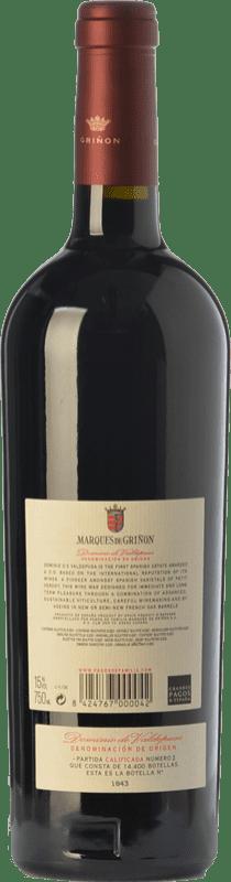 21,95 € | Red wine Marqués de Griñón Crianza D.O.P. Vino de Pago Dominio de Valdepusa Castilla la Mancha Spain Petit Verdot Bottle 75 cl