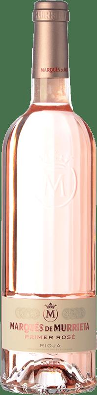 26,95 € 免费送货 | 玫瑰酒 Marqués de Murrieta Primer Rosé D.O.Ca. Rioja 拉里奥哈 西班牙 Mazuelo 瓶子 75 cl