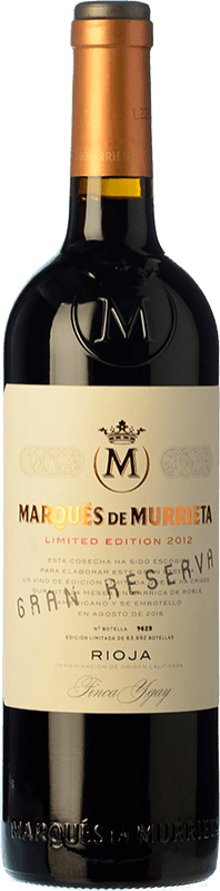 39,95 € | Red wine Marqués de Murrieta Gran Reserva D.O.Ca. Rioja The Rioja Spain Tempranillo, Grenache, Graciano, Mazuelo Bottle 75 cl