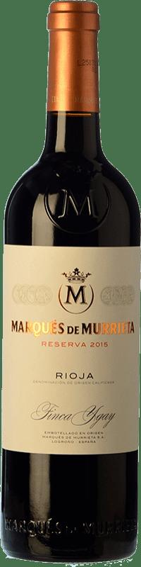47,95 € Envoi gratuit | Vin rouge Marqués de Murrieta Reserva D.O.Ca. Rioja La Rioja Espagne Tempranillo, Grenache, Graciano, Mazuelo Bouteille Magnum 1,5 L