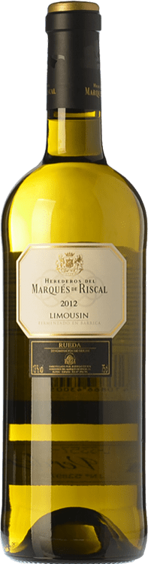 16,95 € | White wine Marqués de Riscal Limousin Crianza D.O. Rueda Castilla y León Spain Verdejo Bottle 75 cl