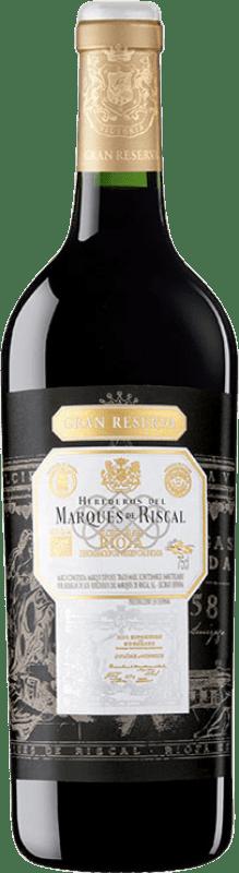 45,95 € Envoi gratuit   Vin rouge Marqués de Riscal Gran Reserva D.O.Ca. Rioja La Rioja Espagne Tempranillo Bouteille 75 cl