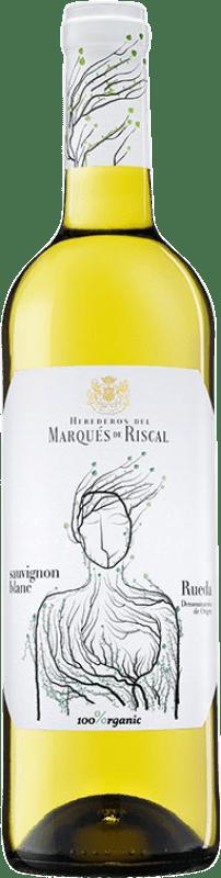 9,95 € 免费送货   白酒 Marqués de Riscal D.O. Rueda 卡斯蒂利亚莱昂 西班牙 Sauvignon White 瓶子 75 cl