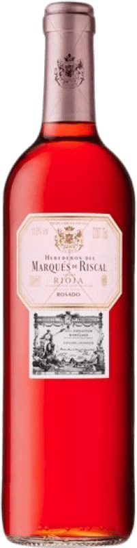 7,95 € Free Shipping | Rosé wine Marqués de Riscal D.O.Ca. Rioja The Rioja Spain Tempranillo, Grenache Bottle 75 cl
