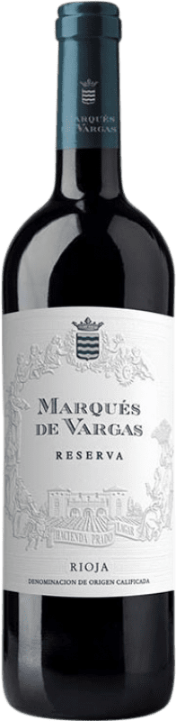 23,95 € | Red wine Marqués de Vargas Reserva D.O.Ca. Rioja The Rioja Spain Tempranillo, Grenache, Mazuelo Bottle 75 cl