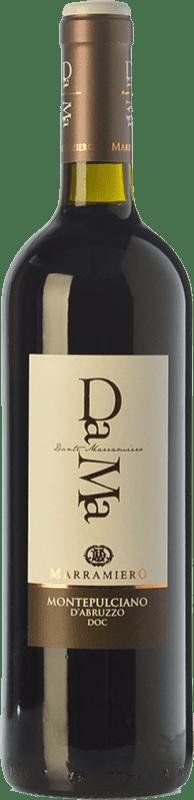 10,95 € Free Shipping | Red wine Marramiero Dama D.O.C. Montepulciano d'Abruzzo Abruzzo Italy Montepulciano Bottle 75 cl