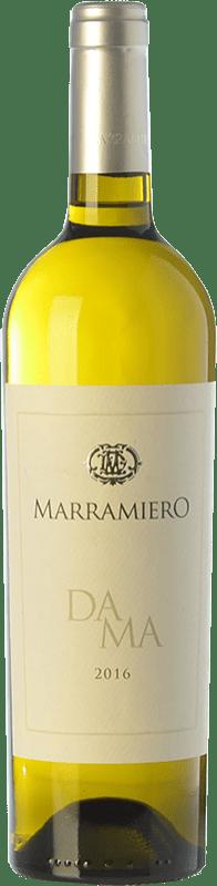 9,95 € Free Shipping | White wine Marramiero Dama D.O.C. Trebbiano d'Abruzzo Abruzzo Italy Trebbiano Bottle 75 cl