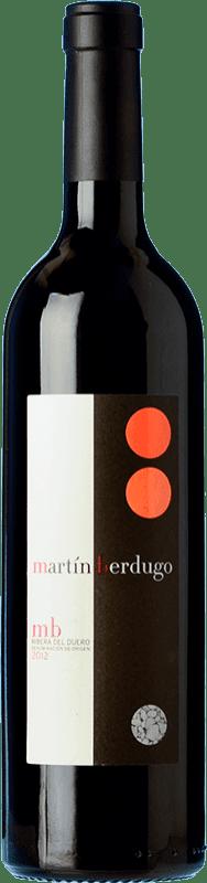 29,95 € Envío gratis | Vino tinto Martín Berdugo MB Crianza D.O. Ribera del Duero Castilla y León España Tempranillo Botella 75 cl