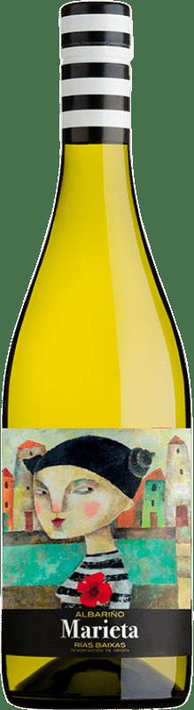 8,95 € | White wine Martín Códax Marieta D.O. Rías Baixas Galicia Spain Albariño Bottle 75 cl
