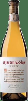 10,95 € Envio grátis | Vinho branco Martín Códax D.O. Rías Baixas Galiza Espanha Albariño Garrafa 75 cl