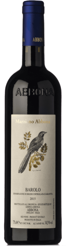 36,95 € | Red wine Abbona D.O.C.G. Barolo Piemonte Italy Nebbiolo Bottle 75 cl