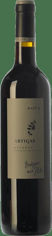 22,95 € Envío gratis | Vino tinto Mas Alta Artigas Crianza D.O.Ca. Priorat Cataluña España Garnacha, Cabernet Sauvignon, Cariñena Botella 75 cl