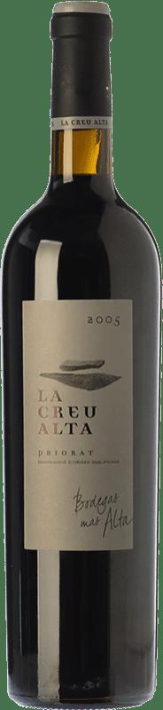 89,95 € Envío gratis | Vino tinto Mas Alta La Creu Crianza D.O.Ca. Priorat Cataluña España Garnacha, Cabernet Sauvignon, Cariñena Botella 75 cl