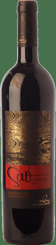 22,95 € Free Shipping | Red wine Blanch i Jové Saó Expressiu Crianza D.O. Costers del Segre Catalonia Spain Tempranillo, Grenache, Cabernet Sauvignon Bottle 75 cl