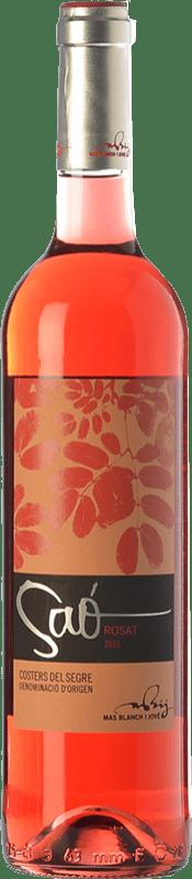 11,95 € Envoi gratuit | Vin rose Blanch i Jové Saó Rosat D.O. Costers del Segre Catalogne Espagne Syrah, Grenache Bouteille 75 cl