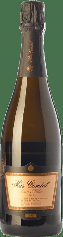 15,95 € Envío gratis | Espumoso blanco Mas Comtal Cuvée Prestige Joan Milà Gran Reserva D.O. Penedès Cataluña España Xarel·lo, Chardonnay Botella 75 cl