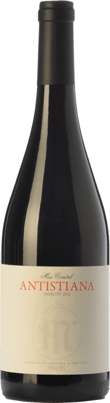 13,95 € Envoi gratuit   Vin rouge Mas Comtal Antistiana Crianza D.O. Penedès Catalogne Espagne Merlot Bouteille 75 cl