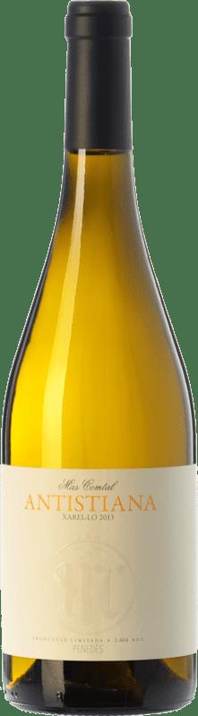 9,95 € Envío gratis | Vino blanco Mas Comtal Antistiana D.O. Penedès Cataluña España Xarel·lo Botella 75 cl