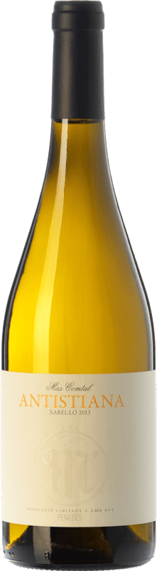 9,95 € Free Shipping | White wine Mas Comtal Antistiana D.O. Penedès Catalonia Spain Xarel·lo Bottle 75 cl