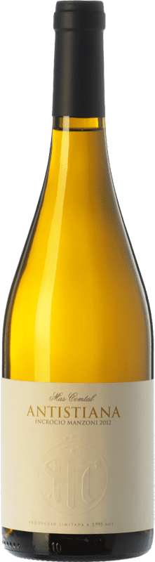 17,95 € Free Shipping | White wine Mas Comtal Antistiana Incrocio Manzoni D.O. Penedès Catalonia Spain Incroccio Manzoni Bottle 75 cl
