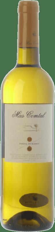 7,95 € Envío gratis | Vino blanco Mas Comtal Pomell de Blancs D.O. Penedès Cataluña España Xarel·lo, Chardonnay Botella 75 cl