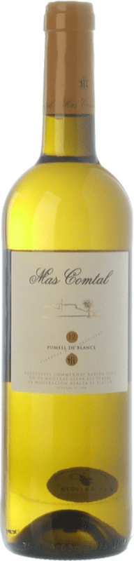 9,95 € Free Shipping | White wine Mas Comtal Pomell de Blancs D.O. Penedès Catalonia Spain Xarel·lo, Chardonnay Bottle 75 cl