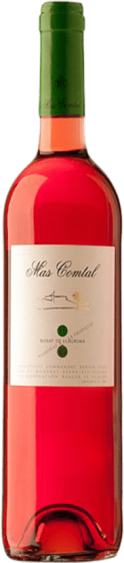 8,95 € | Rosé wine Mas Comtal Rosat de Llàgrima D.O. Penedès Catalonia Spain Merlot Bottle 75 cl