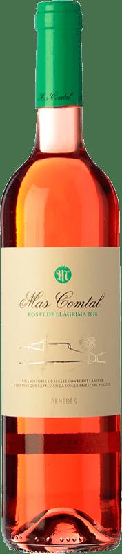 8,95 € Envío gratis | Vino rosado Mas Comtal Rosat de Llàgrima D.O. Penedès Cataluña España Merlot Botella 75 cl