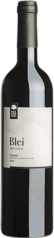 17,95 € Free Shipping | Red wine Mas d'en Blei Crianza D.O.Ca. Priorat Catalonia Spain Merlot, Grenache, Carignan, Cabernet Franc Bottle 75 cl