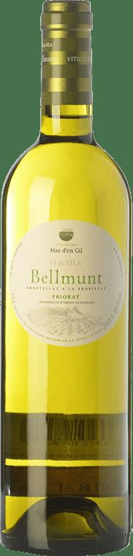 15,95 € Envío gratis | Vino blanco Mas d'en Gil Bellmunt Blanc D.O.Ca. Priorat Cataluña España Garnacha Blanca, Viognier Botella 75 cl